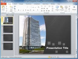 architectural powerpoint template architecture powerpoint