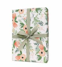 wrapping paper sheets wildflower wrapping sheets by rifle paper co made in usa