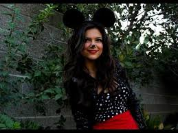 Mickey Mouse Halloween Costume Adults Minnie Mouse Diy Halloween Costume