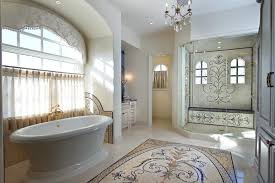Tile Around Bathtub Aqua Mosaic Tile Bathroom Red Gray Art Shower Ideas Tiles