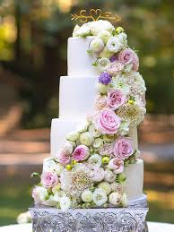 25 gorgeous wedding cakes ideas with fresh flowers