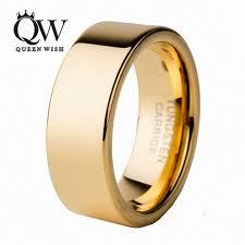 Tungsten Comfort Fit Wedding Bands Aliexpress Com Buy Queenwish 6mm 8mm Infinity Gold Tungsten