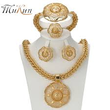 gold costume necklace images Mukun 2017 latest big dubai gold color jewelry sets fashion jpg