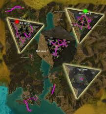 Gw2 World Map by I Spent 50 Hours Running Through Tyria With A Gps Program To