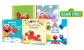 put me in the story personalized sesame storybooks