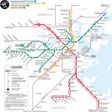 Boston Station Map by Mbta U003e About The Mbta