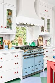 kitchen blue kitchen colorful kitchens color ideas we love