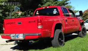 2002 dodge dakota truck wheel offset 2002 dodge dakota slightly aggressive leveling kit