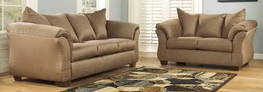 ashley furniture sofa sets buy ashley furniture 7500238 7500235 set darcy mocha living room set