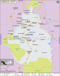 Umkc Campus Map Download Map Of Mexico City Mexico Major Tourist Attractions Maps