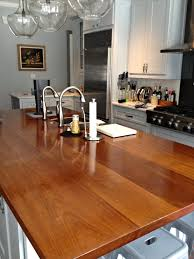 Kitchen Island Wood Countertop Iroko Wood Countertop Photo Gallery By Devos Custom Woodworking