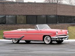pink convertible cars 1955 pink lincoln capri convertible convertible cars pinterest