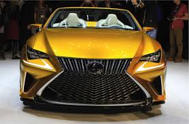 lexus yellow all lexus the lexus lf c2 concept rc convertible will offer all