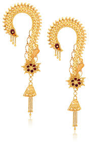 kaan earrings buy senco gold 22k yellow gold drop earrings online at low prices