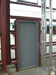 Exterior Doors Commercial Painting Steel Doors Salmaun Me