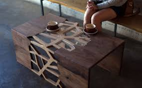 modern wood gradient matter modern wooden coffee table adorable home
