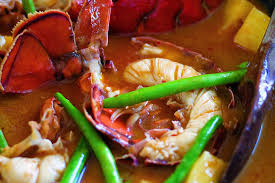 red curry of lobster and pineapple recipe epicurious com