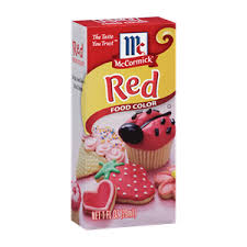 mccormick red food color mccormick