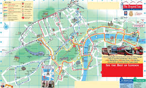 Hop On Hop Off New York Map by The Original Tour London Sightseeing