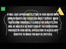 how long does it take for unemployment benefits to be deposited
