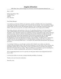 cover letter for substance abuse counselor youth worker cover