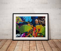 Art Decor Home by Graffiti Art Poster Modern Art Decor Home Decor Wall Art
