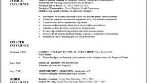 resume for graduate nurse program new grad nurse cover letter