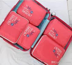 Travel Organizer images Travel packing cubes set 5 luggage organizers laundry bag luggage jpg
