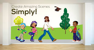 Wall Stickers For Kids Rooms by Wall Stickers Creative For Kids