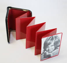 wallet photo album vintage pocket picture album holder small wallet size a photo