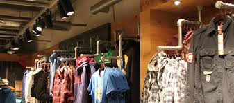display clothing racks floor and wall mounted clothing racks