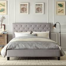 Gorgeous Platform Bed Wood With by Beautify The Bedroom With This Stylish Tufted Platform Bed