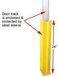 Overhead Door Track Cisco Eagle Catalog 24 Quot H Overhead Dock Door Track Guards Pair