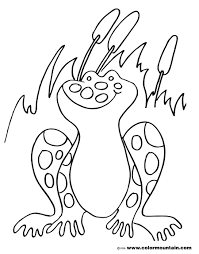 free life cycle coloring pages in bullfrog page glum me