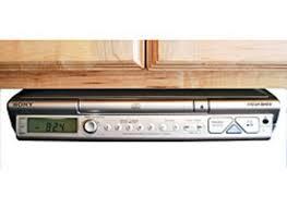 Under Cabinet Radio Tv Kitchen Under Cabinet Stereo With Bluetooth Monsterlune