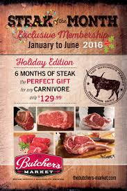 beef of the month try our new steak of the month club butchers market