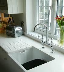 Kitchen Furniture Company Belfast Sink And White Quartz Worktop From That Furniture Company