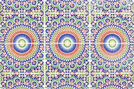 marokkanische fliesen stockbild bild afrikanisch 20437093