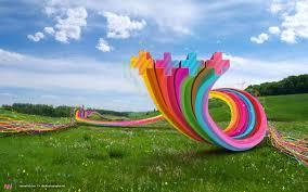Fun Wallpaper by Field Of Art
