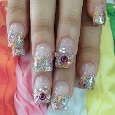 133 best swarovski nails images on pinterest swarovski nails