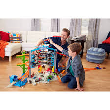 Plan Toys City Series Wooden Parking Garage by Wheels Ultimate Garage Walmart Com
