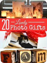 20 lovely ideas for making christmas gifts from photos mums make