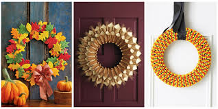 20 diy fall wreaths easy ideas for autumn wreaths