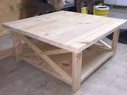 diy square coffee table rustic large square coffee table coma frique studio 8e0b33d1776b
