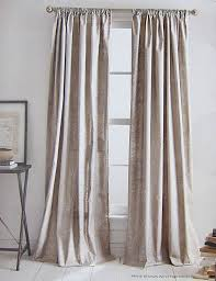 Grey Beige Curtains Dkny Mineral Set Of 2 Window Curtains