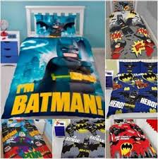 Lego Bedding Set Lego Batman Superheroes Character Single Bedding