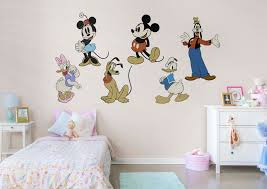 mickey mouse clubhouse wall decal shop fathead for mickey mouse classic mickey friends fathead
