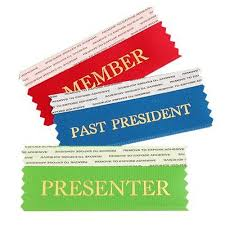 alumni ribbons 4 stick n stack horizontal ribbons name badge productions