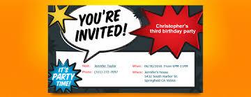 birthday invitations online marialonghi com