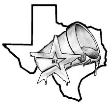 black and white screwston texas tattoo design by rec